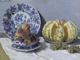 Nature morte à la pastèque Giclée par Claude Monet