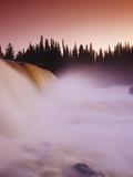 Pisew Falls  Pisew Falls Provincial Park  Manitoba  Canada