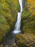 Bridal Veil Falls in autumn