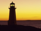 Peggy's Cove at Sunset  Nova Scotia  Canada