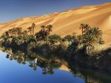 Dune rising from Um el Ma Lake