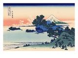 Shichiri Beach in Sagami Giclée par Katsushika Hokusai