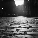 Cobblestones on Earlham Street in Covent Garden