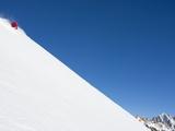 Backcountry skier on mountain