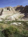 USA  South Dakota  Badlands National Monument