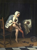 Woman at Her Toilet