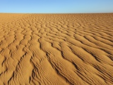 Dune landscape in Tassili du Hoggar  Algeria