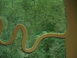 Aerial View of the Chickahominy River