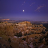 Moonrise over Bryce Canyon National Park