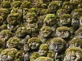Stone Statues in Otagi Nebutsuji Temple in Kyoto