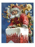 Chimney Santa