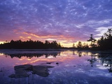 Lighthouse Pond at Sunrise  Kilarney Provincial Park  Ontario  Canada