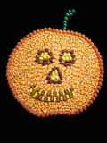 A Jack o&#39;Lantern Made From Candy