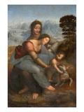 Virgin and Child with St. Anne by Leonardo da Vinci Giclée