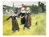 Breton Girls Dancing  Pont-Aven