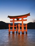Torii Gate at the Itsukushima Jinga Shrine