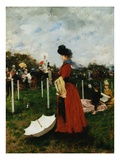 At the Races (Parasol)