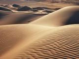 Dune landscape in Erg Admer