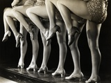 Chorus Girls&#39; Legs
