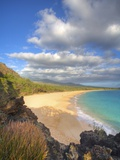 Oneloa Beach in Makena State Park on Maui