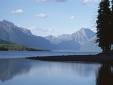 Morning View/Lake Mcdonald  Glacier National Park  Montana