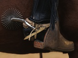 Chilean Cowboy with Elaborate Spurs