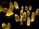 Quartz Crystals at Crystal Cave Museum in Australia