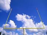 Football Goal Posts Against Sky