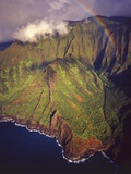 Aerial View of Na Pali Coast