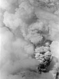 Aerial Of Mt St Helens Ash Cloud