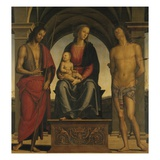 Madonna and Child with Saint John the Baptist and Saint Sebastian