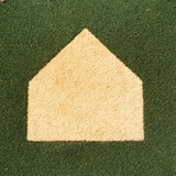 Home Plate on an Artificial Turf Field