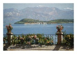 View of the Isola Bella  Italy