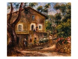 The Collette House in Cagnes