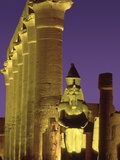 Glow at Luxor Temple