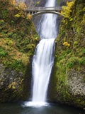 Lower half of Multnomah Falls