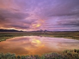 Blackstone Uplands at Sunset  Tombstone Territorial Park  Yukon Territory  Canada