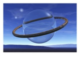 Ring Around Crystal Sphere