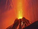 Italy\  Stromboli volcano\  eruptions