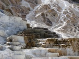 Travertine terraces at Yellowstone's Mammoth Hot Springs
