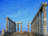 Temple of Poseidon in Greece