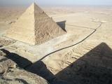 Chephren Pyramid  Giza