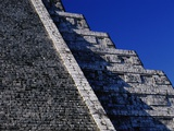 Pyramid of Kukulcan at Chichen-Itza