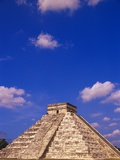 Clouds Hanging Over Pyramid of Kukulcan