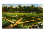 Illustration of Baseball Game