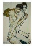Amitié Giclée par Egon Schiele