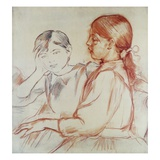 Julie Manet and Jeannie Gobillard at the Piano
