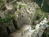 Inca Ruins at Machu Picchu