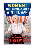 Women! Help America&#39;s Sons Win the War