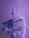 Weathervane and Lightning Bolt